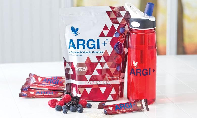 Forever Argi+ stimule le développement de la masse musculaire et constitue un accompagnement efficace pendant et après l'effort. Ph. DR