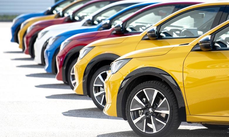 Le marché automobile européen enregistre une chute pendant le mois de janvier