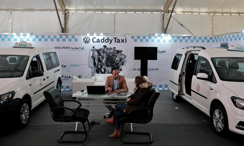 Le taux de renouvellement des taxis à Tanger est de 23% pour les petits taxis et de 48% pour les grands. Ph : MAP