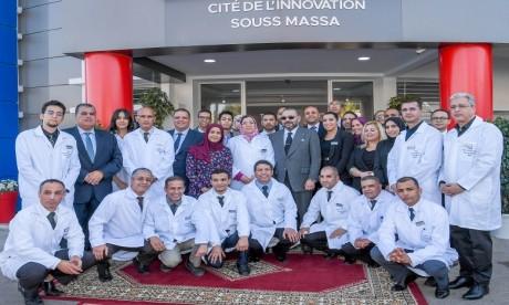 S.M. le Roi inaugure la Cité de l'Innovation  Souss-Massa, une concrétisation de la déclinaison régionale du Plan d'accélération industrielle