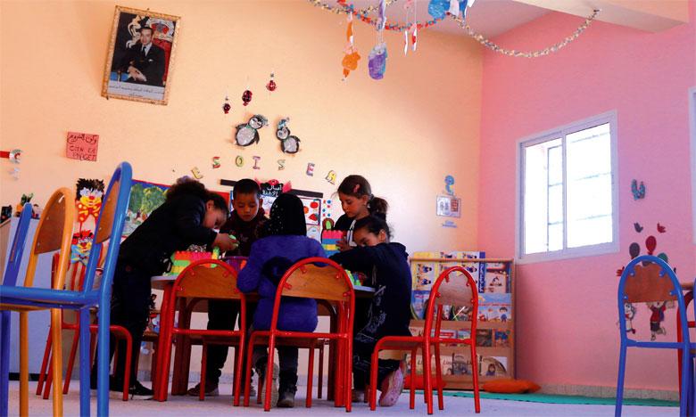 L'unité du préscolaire de Tighza, un exemple édifiant de l'apport considérable de l'INDH en faveur des générations montantes