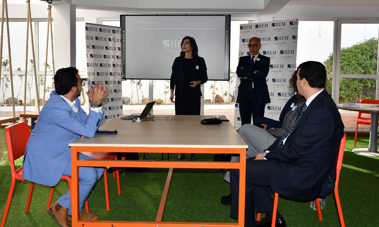 "Officiel, HEM inaugure  ""Engineering School"""