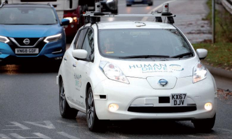 Le projet HumanDrive explore comment les nouvelles technologies peuvent rendre les systèmes  des véhicules autonomes plus fluides et les rapprocher de la conduite humaine.