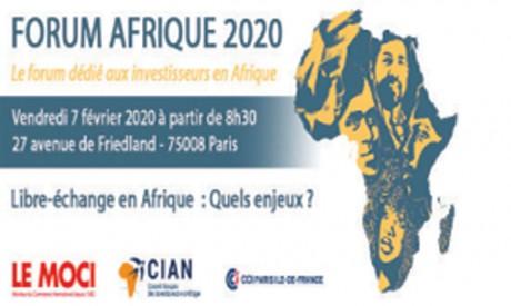 Le Maroc au Forum Afrique 2020 à Paris