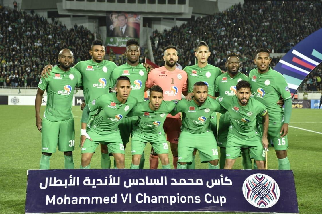 Le Raja s'incline en demi-finale aller face à El Ismaïli d'Egypte