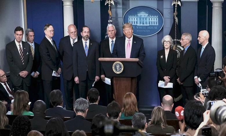 Trump désigne son vice-président Pence pour coordonner la lutte contre Coronavirus