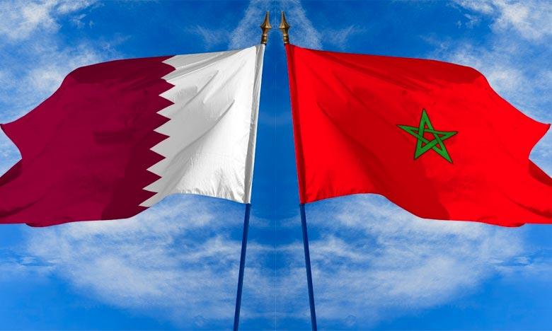 L'Emir du Qatar reçoit à Doha le Conseiller de S.M. le Roi, M. Fouad Ali El Himma