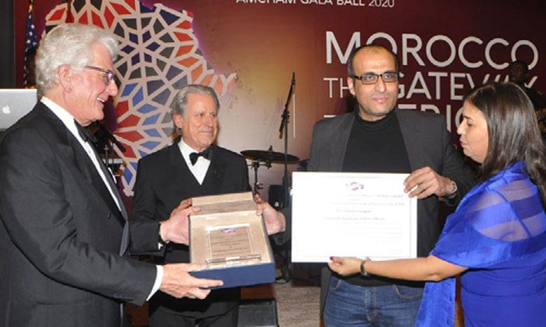 Le prix AmCham-OCP décerné  à Lamination Automotive Fabrics