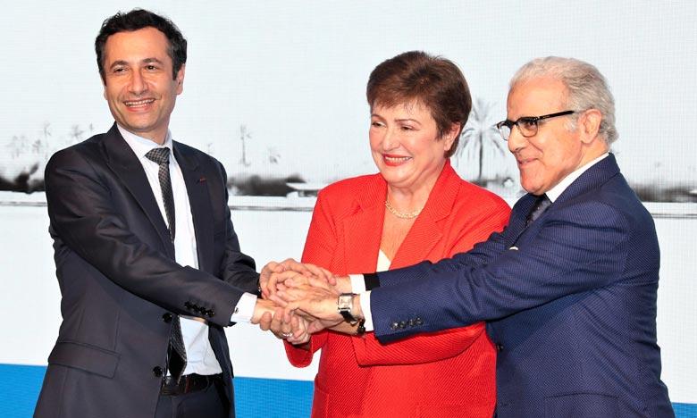 La DG du FMI salue le leadership marocain