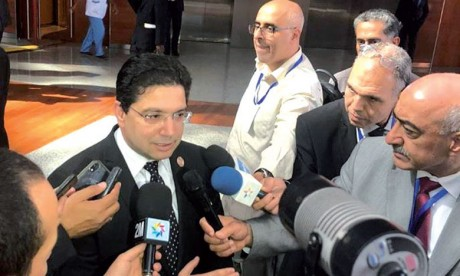 Nasser Bourita : Le règlement de la crise libyenne doit se faire  par les Libyens, pour les Libyens