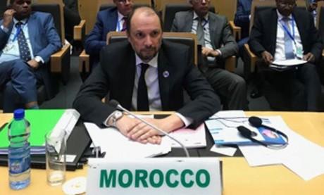 Mohcine Jazouli : Sans paix et sécurité, il est «illusoire»  de penser à un développement inclusif en Afrique