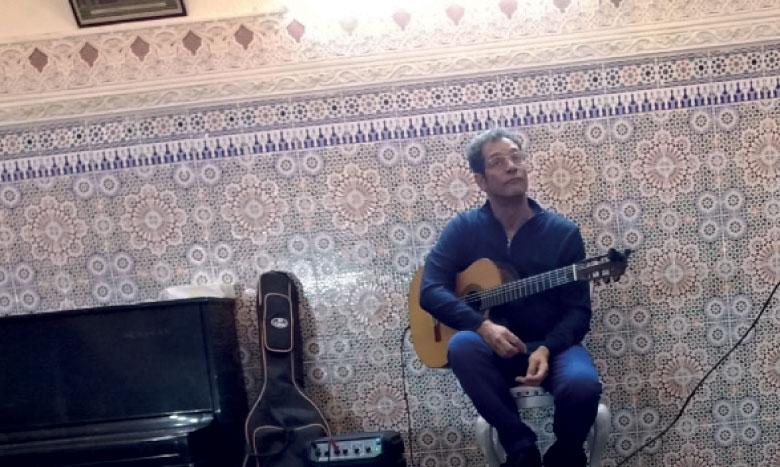 Balade musicale en Amérique latine  avec le guitariste Bertrand de Kermadec