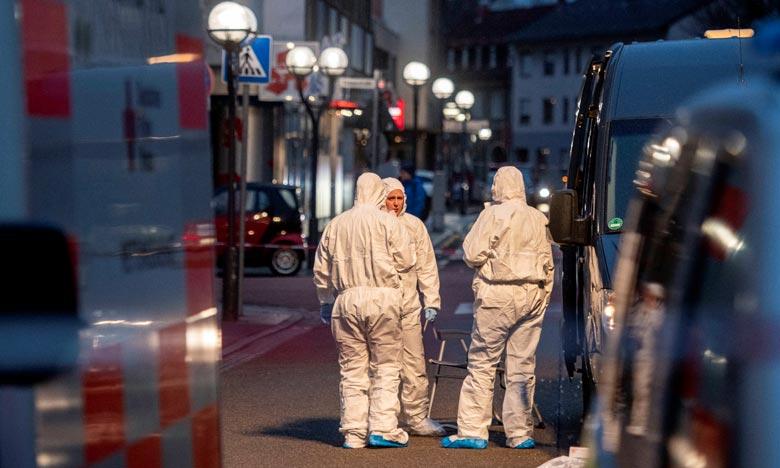 Neuf personnes ont été tuées dans deux fusillades à Hanau, dans le centre de l'Allemagne, un crime probablement xénophobe dont l'auteur présumé a été retrouvé mort à son domicile. Ph : AFP