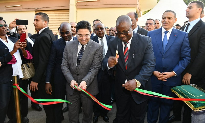 La cérémonie a été présidée par le ministre des Affaires étrangères, Nasser Bourita, et son homologue burundais Ezechiel Nibigira. Ph. DR