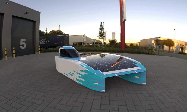 Eleadora2, la nouvelle voiture de la Mines Rabat Solar Team