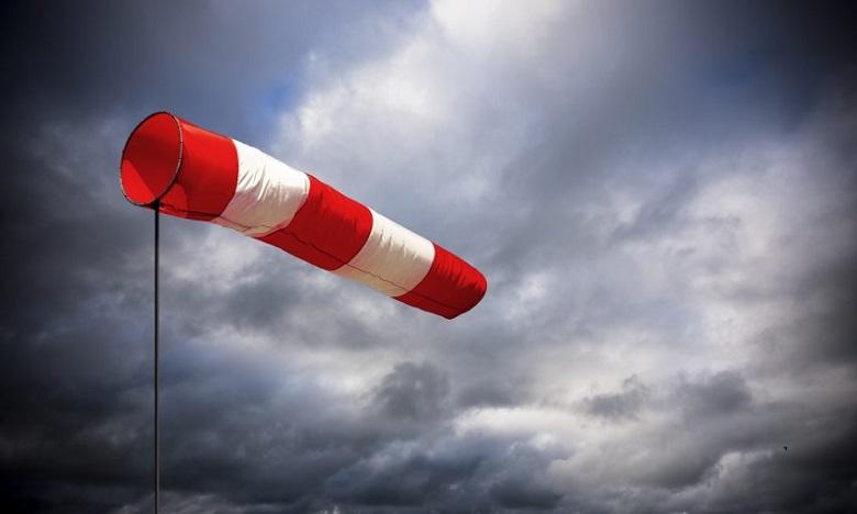 Météo: Fortes rafales de vent ce week-end dans plusieurs provinces du Royaume
