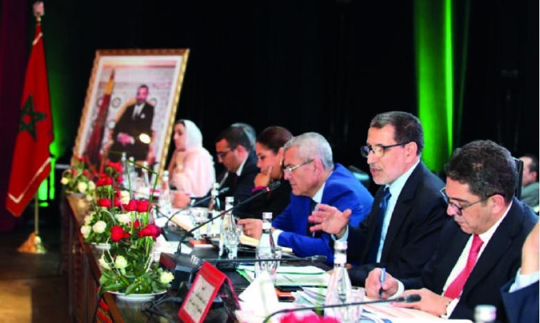 Le gouvernement donne la pleine mesure de son engagement  à mettre en œuvre la régionalisation avancée