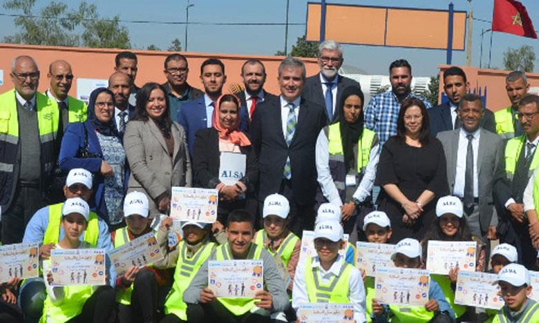 Marrakech : Alsa transport lance son premier projet  d'éducation à la sécurité routière