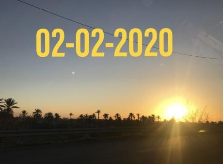 Le 02-02-2020, un dimanche pas comme les autres !