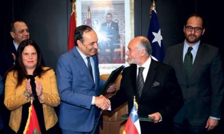 Le Maroc et le Chili conviennent d'institutionnaliser leur dialogue parlementaire