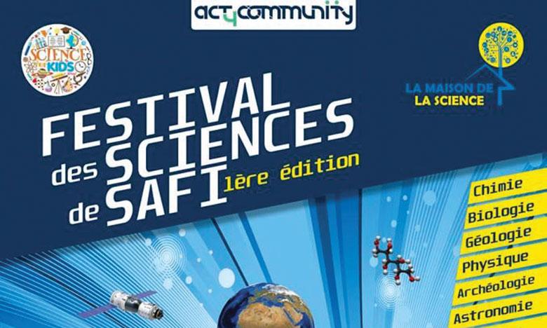 Première édition du Festival des sciences