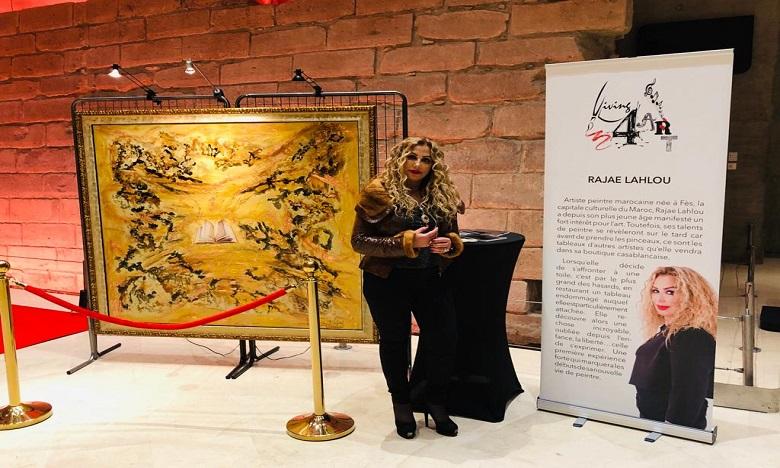 L'exposition « La quête de soi » Signé Rajae Lahlou