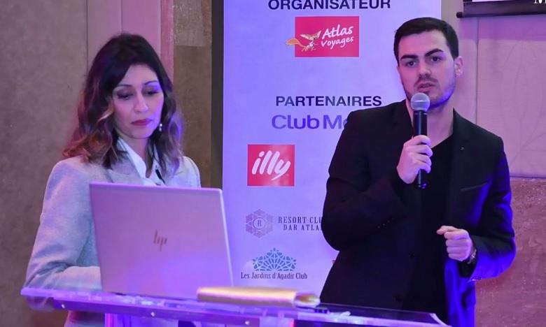 L'événement a été marqué par l'organisation d'une ue tombola où plusieurs lots étaient à gagner, dont des séjours à Club Med. Ph. Sradni