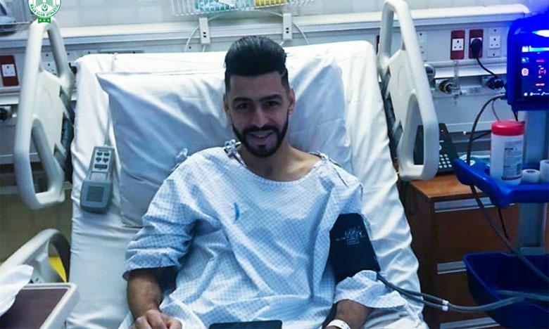 Opération chirurgicale réussie pour Mahmoud Benhalib