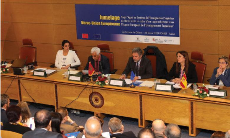 Clôture à Rabat du projet de jumelage institutionnel pour l'appui au système de l'enseignement supérieur