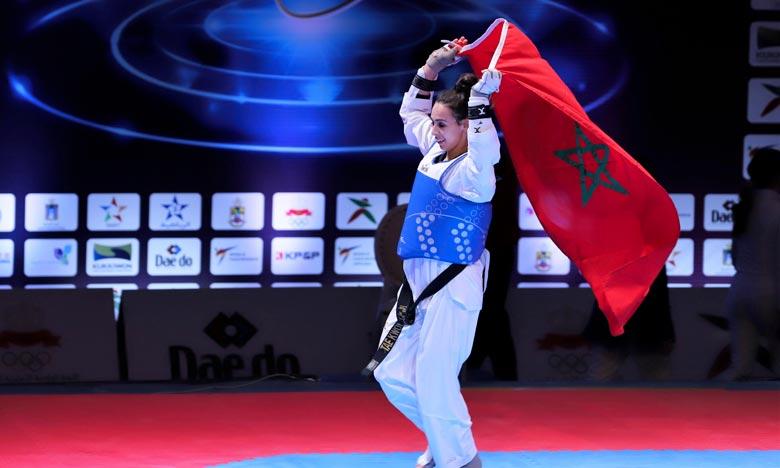 Nada Laâraj figure parmi les trois Marocains sur quatre qui ont assuré leur qualification pour les Jeux Olympiques 2020 qui se tiendront l'été prochain à Tokyo. Ph : MAP