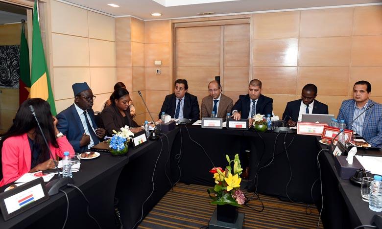 L'assemblée générale de la COAFRIC s'est déroulée en présence notamment du directeur textile et cuir du ministère de l'Industrie, du Commerce, de l'Economie verte et numérique, Taha El Ghazi. Ph : MAP