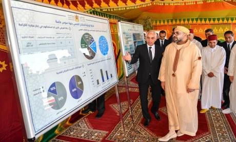 S.M. le Roi lance les travaux de construction de l'Hôpital psychiatrique d'Agadir, une nouvelle entité qui vient enrichir les infrastructures hospitalières de la région de Souss-Massa