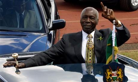 L'ancien président kényan Daniel arap Moi est décédé