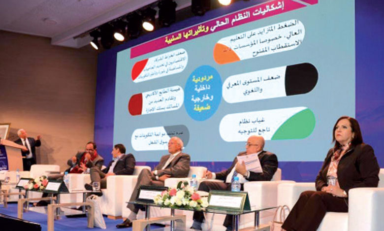 Saaïd Amzazi : le cahier de normes pédagogiques relatif au Bachelor sera prêt en septembre prochain