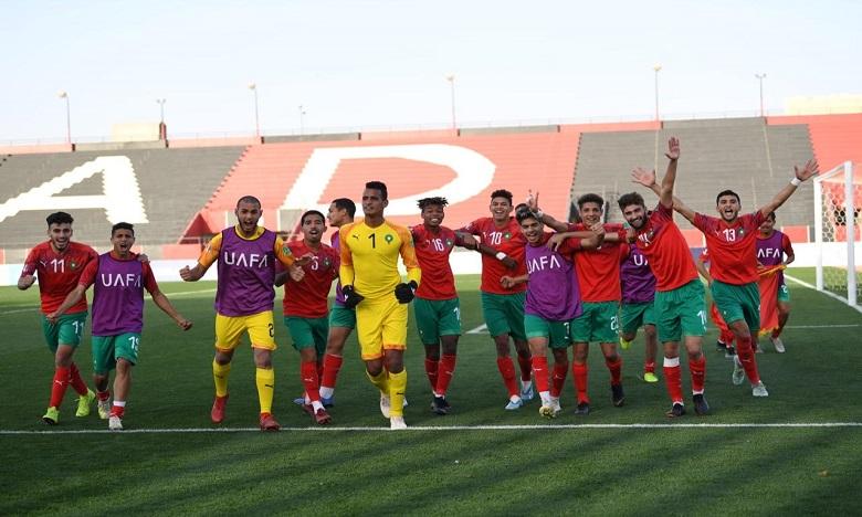 Coupe arabe U20 : le Maroc qualifié en demi-finale