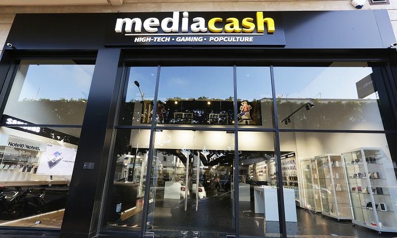 Mediacash offre des produits qui vont de la téléphonie à l'informatique, passant par le multimédia, les jeux-vidéo, les produits dérivés, ou encore les produits rétro . Ph: DR