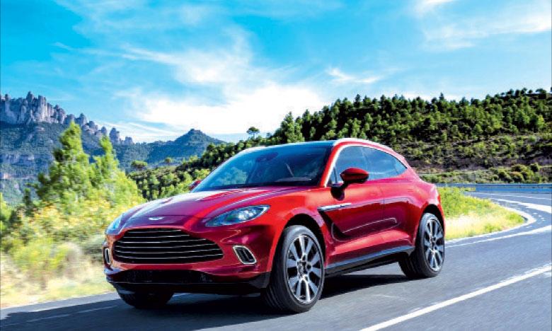 La gamme complète des modèles Aston Martin sera disponible lors du lancement de la marque au Maroc, y compris le DBX nouvellement lancé.