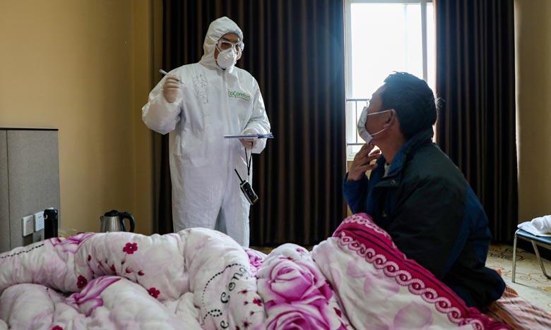 Selon un bilan annoncé par le gouvernement, six membres du personnel soignant sont décédés en Chine du nouveau coronavirus et plus de 1.700 ont été contaminés. Ph :  AFP