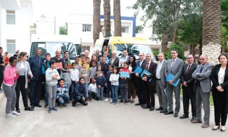 Son Altesse la Princesse Lalla Zineb reçoit M. Marc Nassif, président de la Fondation Renault Maroc et directeur général du Groupe Renault Maroc