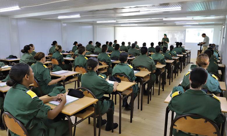 Les appelés du Centre de recrutement et de formation interarmes d'El Hajeb entament la phase de spécialisation