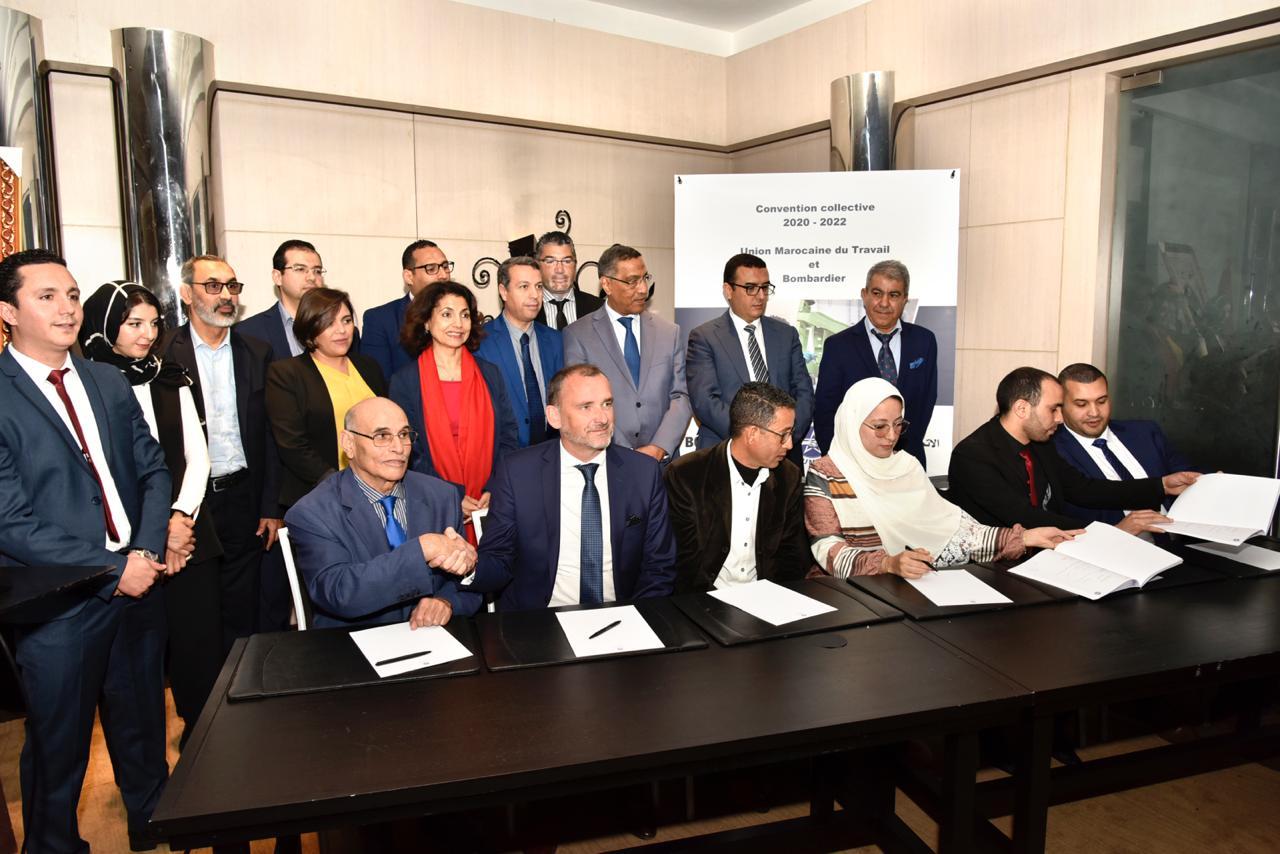 Bombardier et l'UMT signent une nouvelle Convention collective