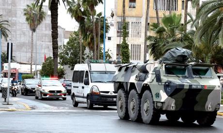 Entrée en vigueur de l'état d'urgence sanitaire au Maroc depuis vendredi à 18 heures