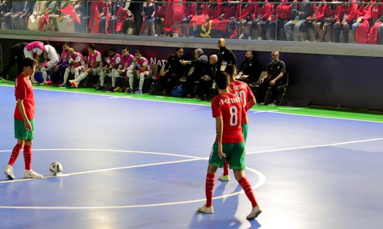 Futsal Croatie 2020  : Le Maroc s'impose face au Monténégro