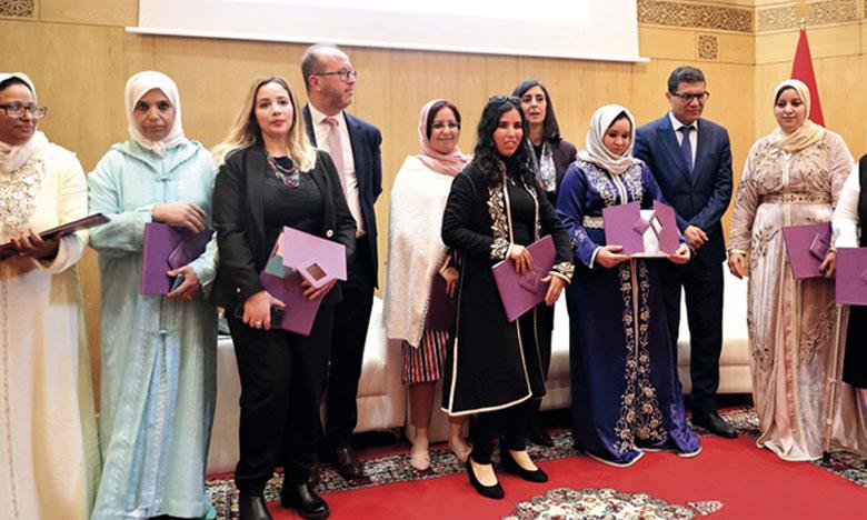 Ce prix a été remis aux coopératives lauréates à l'occasion de la célébration de la Journée internationale de la femme.