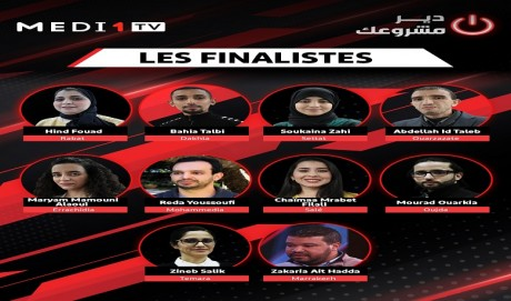 Les finalistes du programme «Dir Mechrou3ek» dévoilés