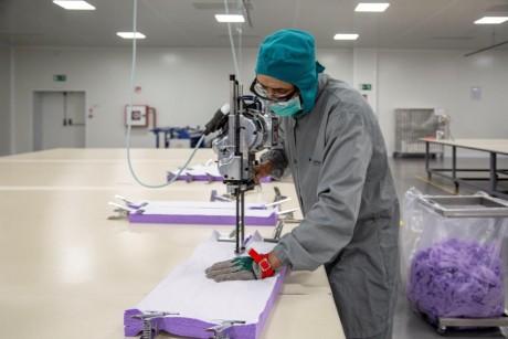 Coronavirus : Le Marocain Lamatem fournit l'Etat en produits de textile médical