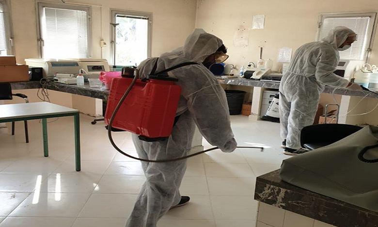 Don de sang : Une large opération de désinfection et de stérilisation du CRST face au coronavirus