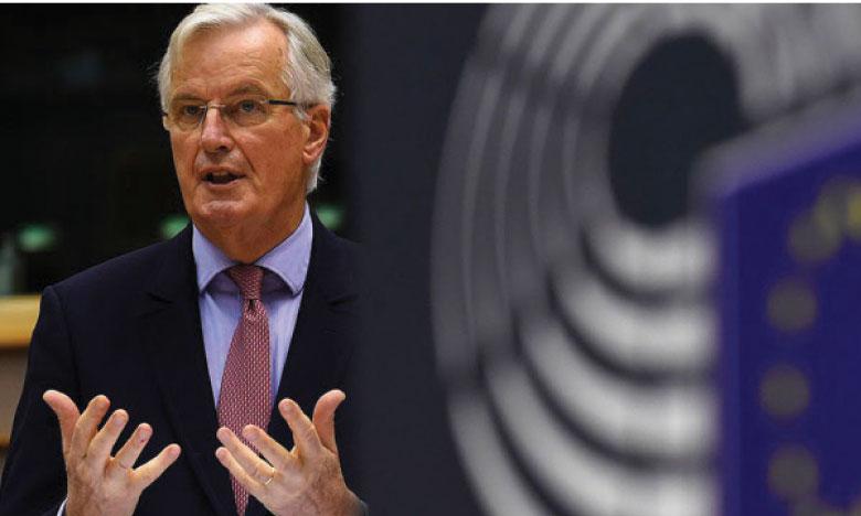 Miche Barnier présente un «ambitieux» projet d'accord aux États membres