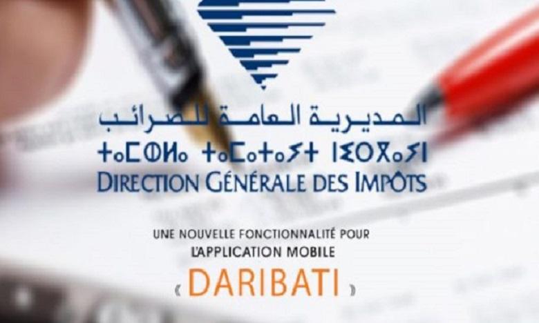 """""""DARIBATI"""" est une nouvelle application mobile lancée par la Direction Générale des Impôts. Ph: DR"""