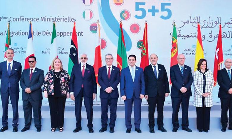 Les pays de la Méditerranée occidentale plaident pour une gestion de la problématique migratoire basée sur la responsabilité équitablement partagée et la solidarité agissante